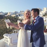 Anna & David ~ Santorini, Greece