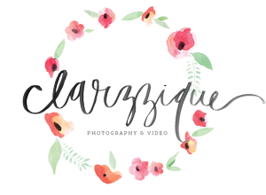 clarzzique | sydney based destination wedding photographer & videographer logo